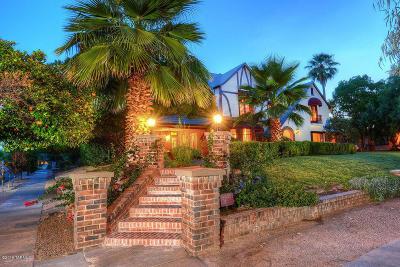 Tucson Single Family Home For Sale: 2101 E 3rd Street