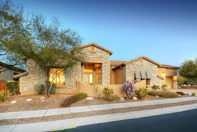 Sabino Mountain (1-290) Single Family Home Active Contingent: 4115 N Black Rock Drive