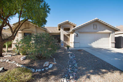 Oro Valley Single Family Home Active Contingent: 12921 N Meadview Way