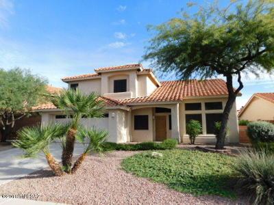 Tucson Single Family Home For Sale: 629 W Paseo Rio Grande