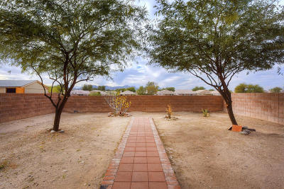 Tucson Single Family Home Active Contingent: 2865 N Silver Island Way
