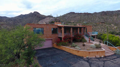 Tucson Single Family Home For Sale: 6305 W Lost Canyon Drive
