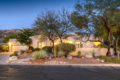 Tucson Single Family Home Active Contingent: 7355 E Calle Meseta Serena