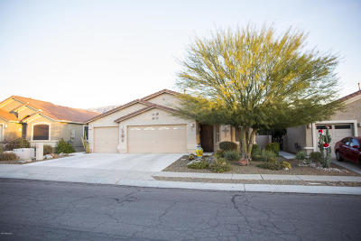 Oro Valley Single Family Home Active Contingent: 13408 N Wide View Drive