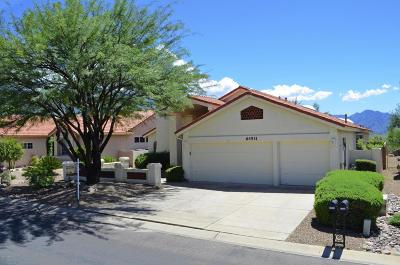 Saddlebrooke Single Family Home Active Contingent: 64531 E Canyon Shadows Lane