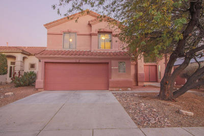 Oro Valley Single Family Home Active Contingent: 13528 N Wide View Drive