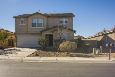 Tucson Single Family Home Active Contingent: 10081 N Blue Crossing Way
