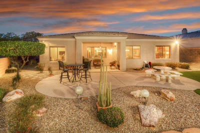 Marana Single Family Home Active Contingent: 4796 W Pier Mountain Place