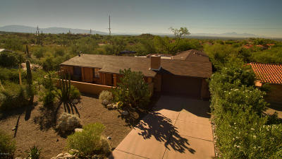 Tucson Single Family Home Active Contingent: 6448 N Burro Creek Place