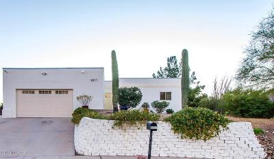 Pima County Single Family Home Active Contingent: 2877 W Desert Crest Drive