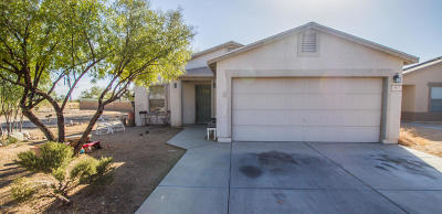 Tucson Single Family Home For Sale: 1411 W Bronte Place
