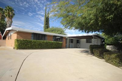 Tucson Single Family Home For Sale: 1912 S Camino Seco