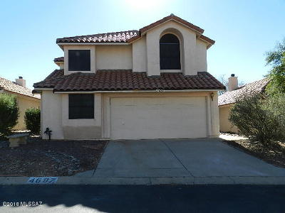 Tucson Single Family Home For Sale: 4697 W Lessing Lane