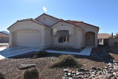 Oro Valley Single Family Home Active Contingent: 14293 N Trade Winds Way