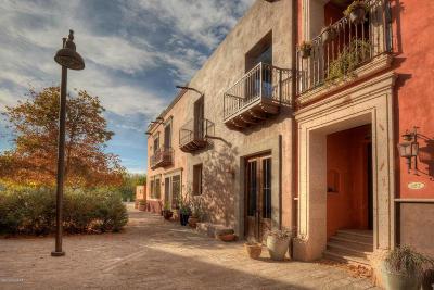 Tucson Single Family Home Active Contingent: 185 S Avenida Del Sembrador