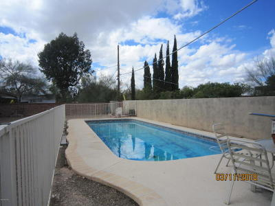 Tucson AZ Single Family Home Active Contingent: $185,000