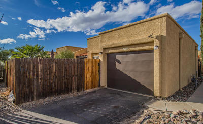 Pima County Townhouse Active Contingent: 4430 W Pyracantha Drive