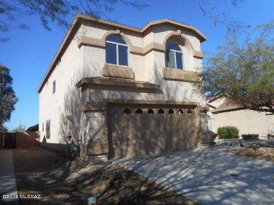 Tucson Single Family Home For Sale: 7854 S Hidden Stone Lane