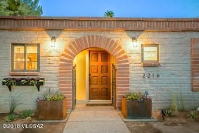 Tucson Single Family Home For Sale: 2216 N Norton Avenue