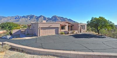 Oro Valley Single Family Home For Sale: 10871 N Guava Drive