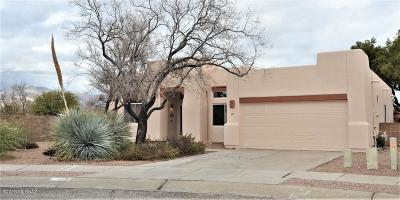 Single Family Home Active Contingent: 8777 E Desert Lupine Place