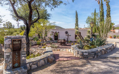 Tucson Single Family Home For Sale: 8861 E Buckboard Road