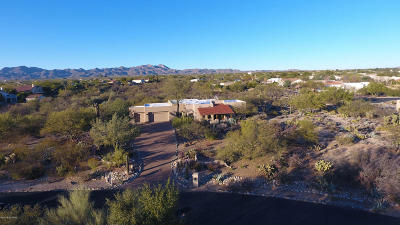 Oro Valley Single Family Home Active Contingent: 1880 W Via Mandarina