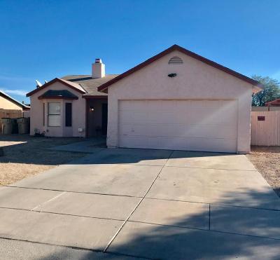 Single Family Home For Sale: 7261 S Camino Alegre