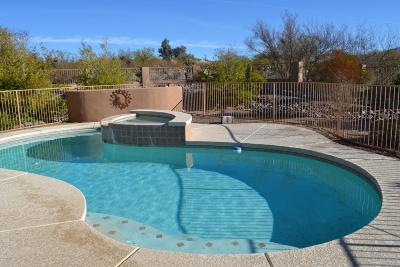 Tucson Single Family Home For Sale: 10417 E Boulderfield Drive