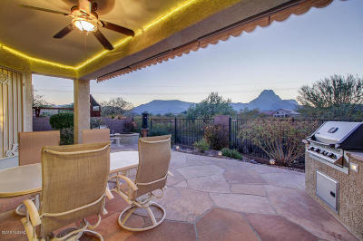 Tucson Single Family Home For Sale: 8015 N Gillespie Lane