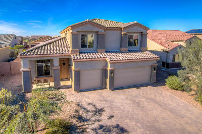 Marana Single Family Home For Sale: 8744 W Hanbury Rd