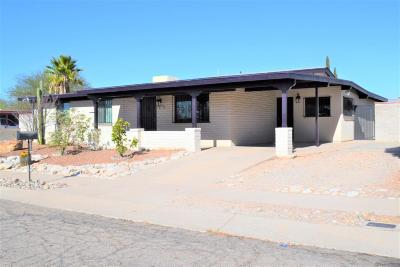 Tucson Single Family Home For Sale: 8317 E Rolling Ridge Street