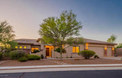 Oro Valley Single Family Home Active Contingent: 13821 N Javelina Springs Place