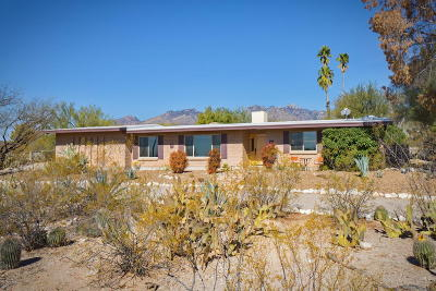 Tucson Single Family Home For Sale: 7925 E Cloud Road