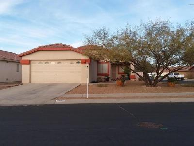 Tucson Single Family Home Active Contingent: 6586 W Wenden Way
