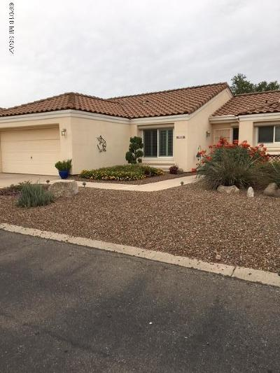 Tucson Single Family Home Active Contingent: 3318 W Desert Bend Loop