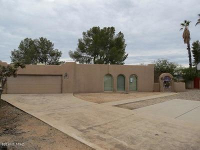 Tucson Single Family Home For Sale: 8760 E Placita Playa