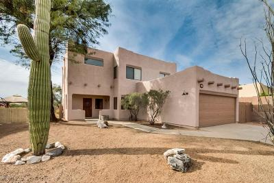 Tucson Single Family Home For Sale: 9291 N Jessy Lane