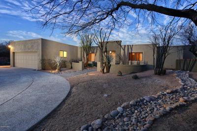Pima County Single Family Home For Sale: 10061 E El Poso Trail