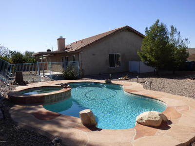 Marana Single Family Home For Sale: 12966 N Suizo Mountain Road