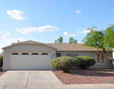 Tucson Single Family Home Active Contingent: 7764 W Rising Moon Way