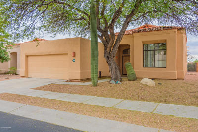 Tucson AZ Single Family Home Active Contingent: $220,000
