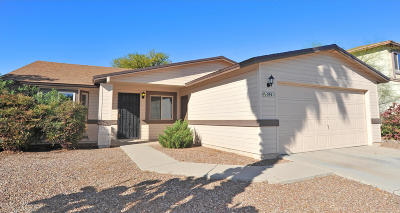 Tucson Single Family Home For Sale: 5941 N Edenbrook Lane