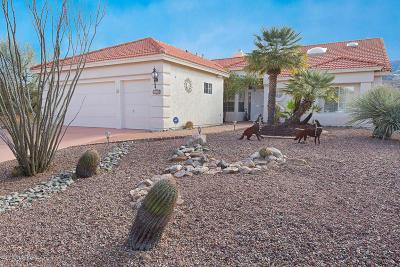 Tucson Single Family Home Active Contingent: 38089 S Canada Del Oro Drive