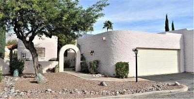 Tucson Townhouse For Sale: 4523 N Circulo De Kaiots