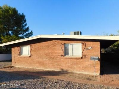 Tucson Single Family Home For Sale: 5809 E Rosewood Street
