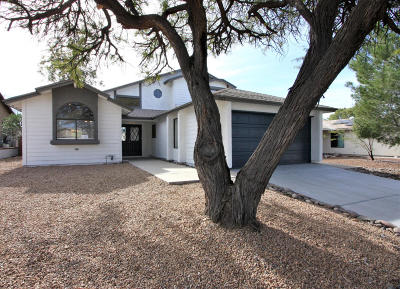 Tucson Single Family Home For Sale: 3633 W Butterfly Lane