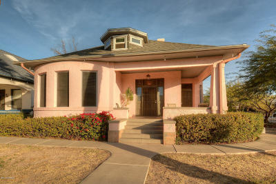 Tucson Single Family Home For Sale: 445 E University Boulevard