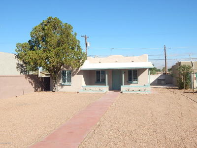 Tucson Single Family Home For Sale: 221 E 32nd Street