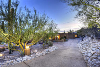 Tucson Single Family Home For Sale: 4421 N Camino Sumo